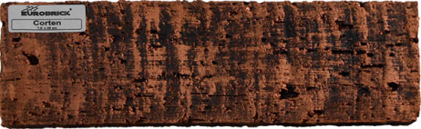 Revestimento Eurobrick Corten 7,5x25cm (cx c/ 1,00 m²)