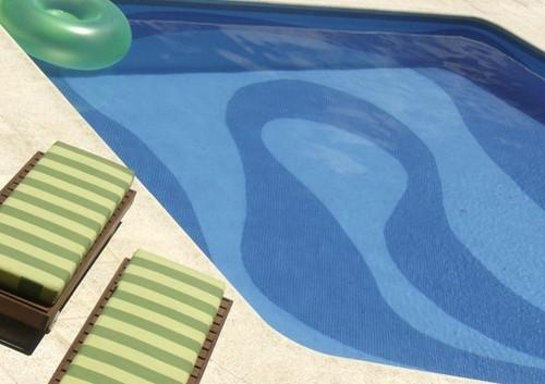 Pastilha de vidro para piscina