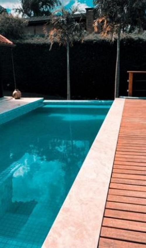 Borda para piscina valor