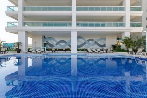 Obra de piscina