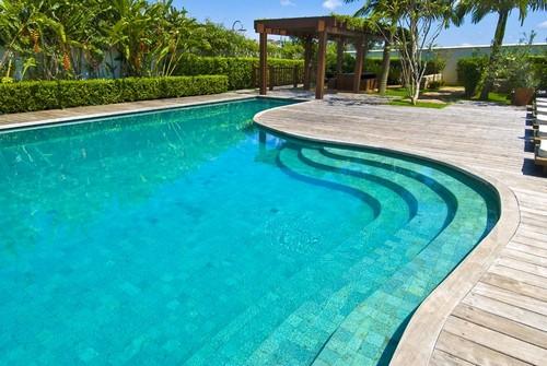 Pedra hijau para piscina