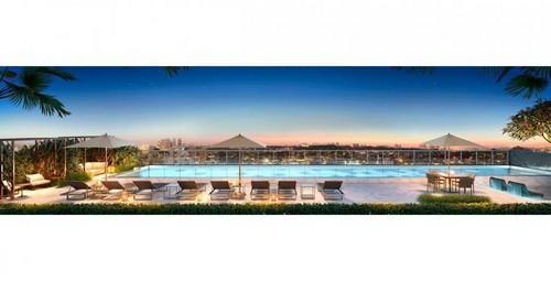 Reforma de piscina em condomínio
