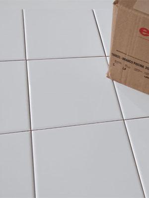 Azulejo Branco 20 x 20 -  Eliane